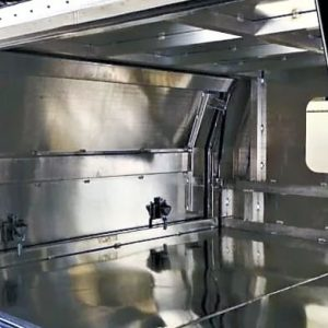 Alloy Canopy 1800 x 1770 x 860 mm Flat Plate with Windows