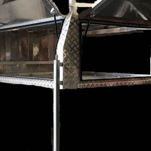 Alloy Canopy 1800 x 1770 x 860 mm Checker Plate