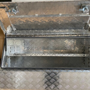 Alloy Toolbox 1200 x 500 x 700 mm Checker Plate