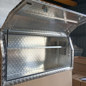 Alloy Toolbox 1800 x 500 x 800 mm Checker Plate